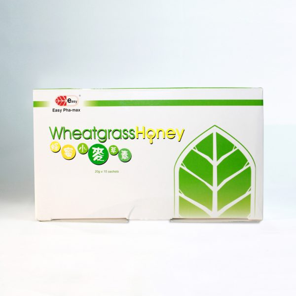 Wheatgrass Honey(15 Sachets Per Box) | Wheatgrass C.A.N. International